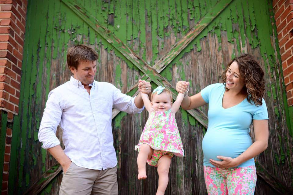 cowden maternity photo