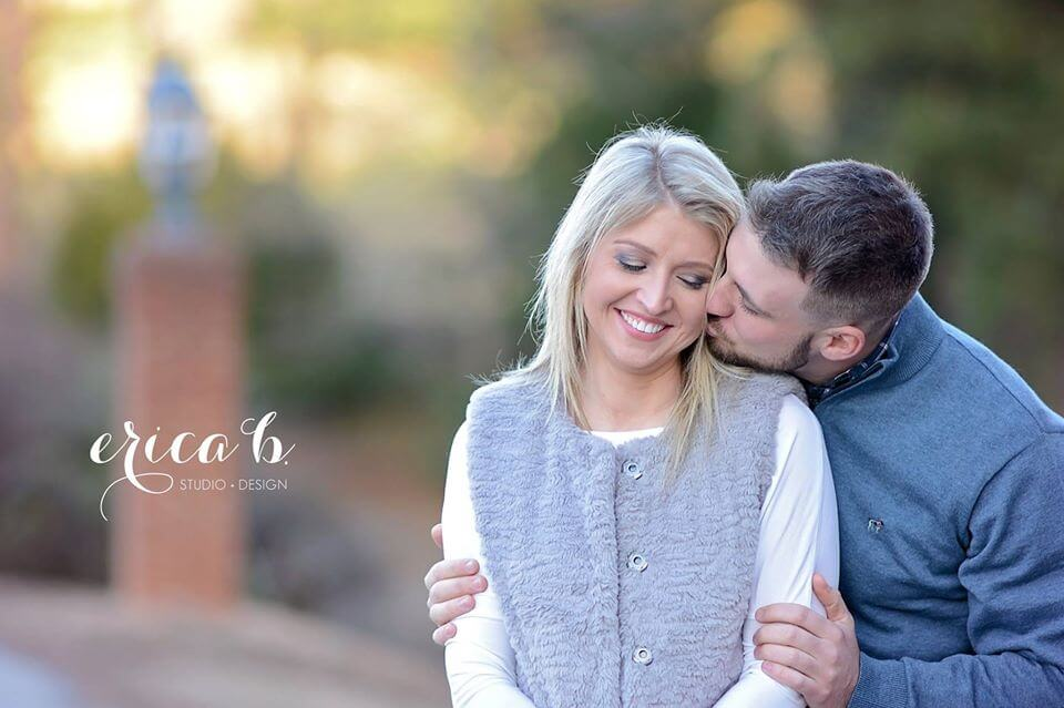 jessica and will engagement photo